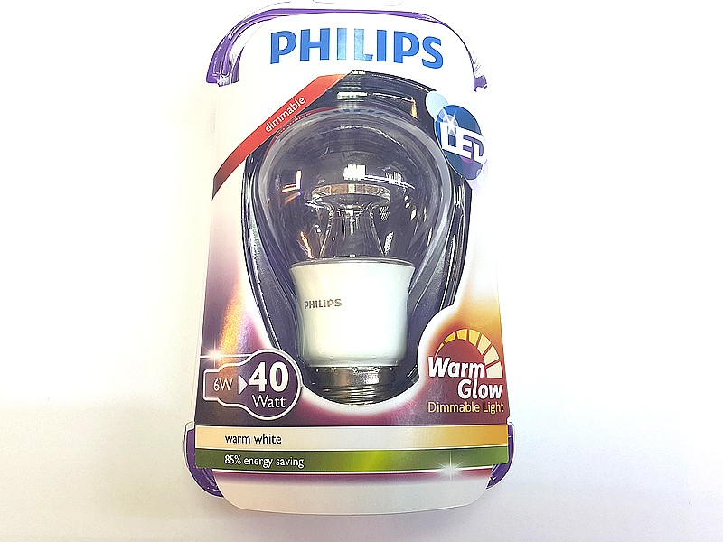 e27 philips led 6w 40w d warm glow 2200 2700k. Black Bedroom Furniture Sets. Home Design Ideas